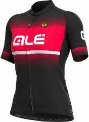 Donkerrode Alé Solid Blend fietstrui voor dames - Fietstruien