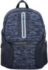 Coleos Rucksack 43 cm Laptopfach Piquadro blue