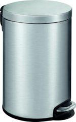 Zilveren EKO Serene Step Bin pedaalemmer - 12 l - mat/RVS