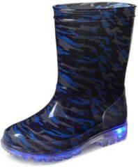 Gevavi Boots Lars PVC Blauw Regenlaarzen Kids