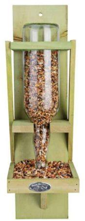 Afbeelding van Groene Esschert Design Voersilo voor vogelvoer - Vogelvoederhuisje - Groen - 16 cm