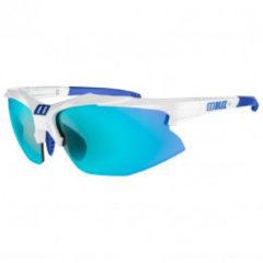 Bliz - Hybrid Cat: 3 VLT 13% - Fietsbril turkoois/grijs/wit/blauw