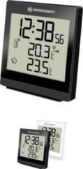 BRESSER TemeoTrend SQ Funktemperaturstation - Thermometer Farbe: schwarz