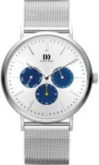 Jumbo Danish Design IQ62Q1233 horloge heren - zilver - edelstaal