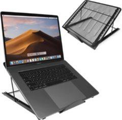 Sirius Choice - Universele Ergonomische Laptop Standaard 7-13'' inch - Laptop Houder - Voor Thuiswerken en op Kantoor - Laptop steun - Tablet Houder/Standaard - Geschikt voor Macbook/Laptops/IPad/Tablets/Notebook/E-Reader - Boekenstandaard - Zwart