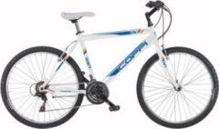 Fausto Coppi 26 Zoll Herren Mountainbike 18 Gang Coppi... weiß-blau