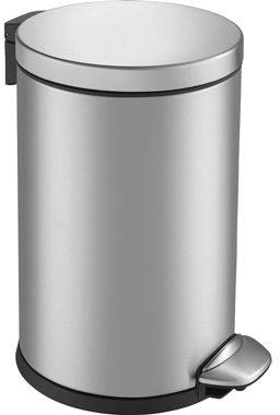 Afbeelding van Roestvrijstalen Pedaalemmer - Luna Step bin - Voetpedaal - 3l Liter - mat RVS - EKO