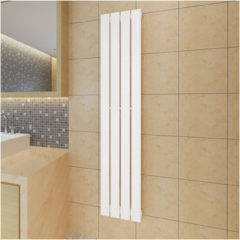 VidaXL Radiator-/verwarmingspaneel wit 311x1500 mm