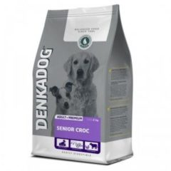 Denkadog Senior Croc Rund&Vis&Rijst - Hondenvoer - 12.5 kg - Hondenvoer