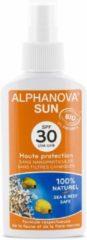Alphanova Natuurlijke Zonnebrandspray Factor 30