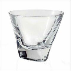 Bohemia crystal TRIANGLE whisky glazen - Whiskey KRISTAL 6 pcs
