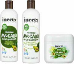 Inecto Avocado Shampoo, Conditioner en Hair Mask