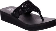 Zwarte Skechers Vinyasa - Glass Star Slippers Dames - Black - Maat 40