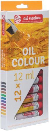 Afbeelding van Talens Art Creation olieverf tube van 12 ml, set van 12 tubes in geassorteerde kleuren