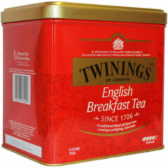 Twinings English Breakfast Blik (500g)