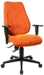 TopStar Bureaustoel Lady Sitness in Oranje