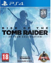 Square Enix Rise of the Tomb Raider 20 Year Anniversary Standard Edition - PS4