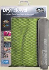 Sea to Summit Drylite Towel Mikrofaser Handtuch Größe XL Lime