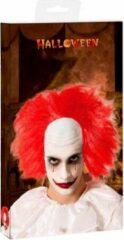 BigBuy Carnival Halloween pruik Rood