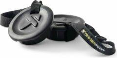 Zwarte TriggerPoint Grid Caps en Strap