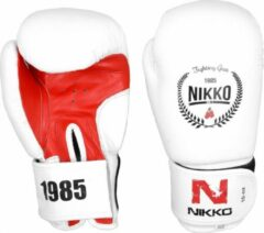 Witte Nikko Sports Nikko bokshandschoen White edition