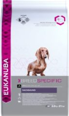 Eukanuba Dog Dachshund/Teckel - Rasspecifiek - Kip - Hondenvoer - 2.5 kg