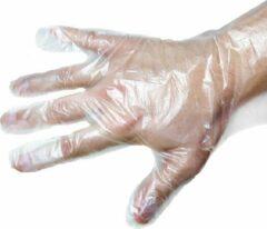 300 Stuks Disposable Plastic Handschoenen - Wegwerp - Schone Handen - Vlees Kruiden - Transparante plastic wegwerphandschoenen Large 300 st.