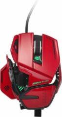 Rode Mad Catz R.A.T 8+ ADV muis Rechtshandig USB Type-A Optisch 20000 DPI