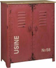Rode Tower Living Iron Opbergkast 103 cm Metaal