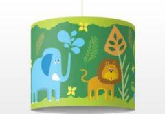 PPS. Imaging Kinderlampe No.BP14 Zootiere - Lampe - Lampenschirm Grün