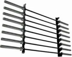 Zwarte Toorx Fitness Toorx Wall Barbell Rack