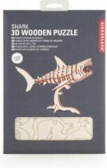 Kikkerland 3D puzzel van hout - In de vorm van een Haai