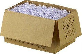Afbeelding van Rexel recycleerbare opvangzakken voor papiervernietiger 26 l, voor Auto+100X, pak van 20 zakken