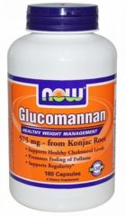 Now Foods Now Glucomannan 575 Mg Trio (3x 180cap)