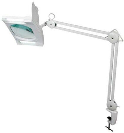 Afbeelding van Witte Velleman Loeplamp 3 dioptrie met 2 9 watt lampen
