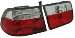AutoStyle Set Achterlichten passend voor Honda Civic Coupe 1996-2001 - Rood/Helder