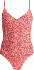 Barts - Women's Bathers Suit - Badpak maat 38, rood/beige