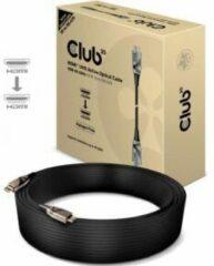 Club 3D Club3D HDMI Aansluitkabel 30.00 m CAC-1390 Vlambestendig, High Speed HDMI met ethernet Zwart [1x HDMI-stekker - 1x HDMI-stekker]