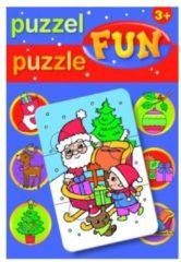 Deltas puzzel Kerst 17 cm 15-delig