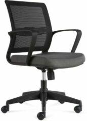 Antraciet-grijze BenS 831-Eco-v Antraciet, Bureaustoel, degelijke bureaustoel geschikt voor langdurig gebruik
