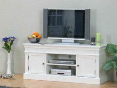Hioshop Mozart - Tv-meubel - Wit