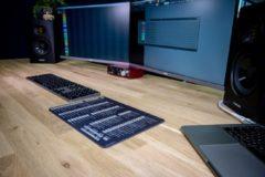 InsideAudio FL Studio muismat met sneltoetsen - zwart/wit