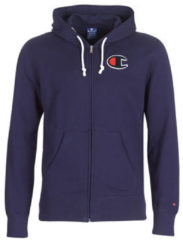 Blauwe Zweet Champion Hooded Full Zip Sweatshirt