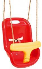Rode Swing King Schommelzitje voor baby rood/geel 2521050