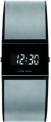 Jacob Jensen 532 Horloge Titanium-staal-rubber saffierglas 29/24 mm