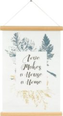 Present Time Poster Love Makes A House A Home