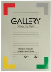 Gallery Steinbach tekenblok gekorreld formaat 297 x 42 cm (A3) 250 g/m² blok van 20 vel