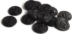 Zwarte De Bron Snoepgoed Suikervrije Muntdrop 1 kilo