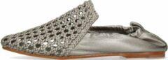 Zilveren melvin hamilton dames loafers melly 7