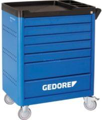 GEDORE Werkzeugwagen workster smartline mit 308-tlg Werkz eugsortiment